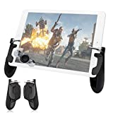takyu Mobile Controller for Pad, Mobile Game Controller with Game Joystick, Upgraded Version W9 180° Rotatable Triggers Gamepad for 4.5-12.9 inch Tablet & Android iOS Phone