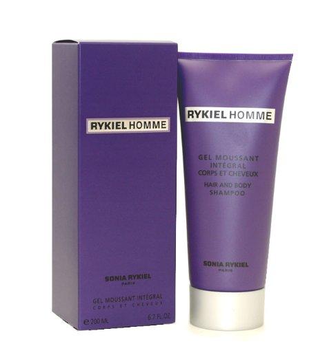 Sonia Rykiel Homme Hair & Body Shampoo 200ml Purple Box
