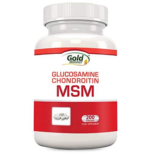 Integratore per le articolazioni con MSM, glucosamina, condroitina, 200 compresse, prodotto negli Stati uniti presso uno stabilimento con certificazione GMP,...