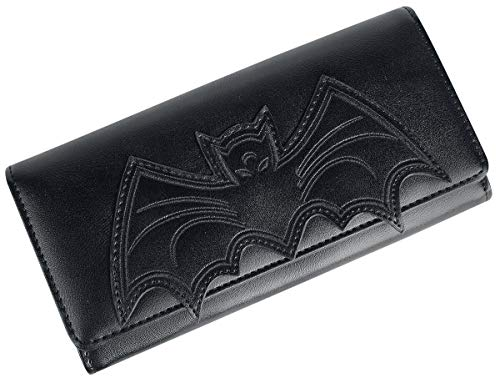 Banned Alternative Bat Wallet Frauen Geldbörse schwarz 100% Polyurethan Gothic, Rockwear