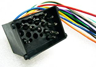 Stereo Wire Harness BMW 740i 93 94 95 96 97 98 (car radio wiring installation.