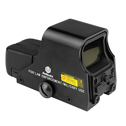 beileshi 551 Holographic Sight Red Green Point Visier/Dot Anblick Bereich, 10 Stufen Helligkeit, passt in Jede 20mm Schiene
