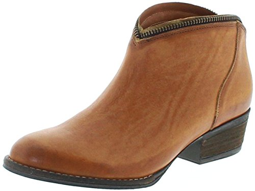 Mezcalero Shoes 2033 Sofia Orange Lederstiefette für Damen Braun Fashion Stiefelette, Groesse:38