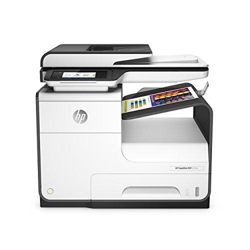 HP PageWide 377dw A4 Wifi  - Impresora multifunción (300 x 300 DPI, 600 x 600 DPI, 1200 x 1200 DPI, A4, 216 x 356 mm, Color) negro y blanco