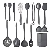 Cooking Utensils Set,Silicone Kitchen Utensil Set 15PCS,Non-Stick Silicone Kitchen Cooking,Heat Resistant 446°F Gadgets Cookware Set,Best Kitchen Tool Set,kitchen essentials for new home(Non Toxic)
