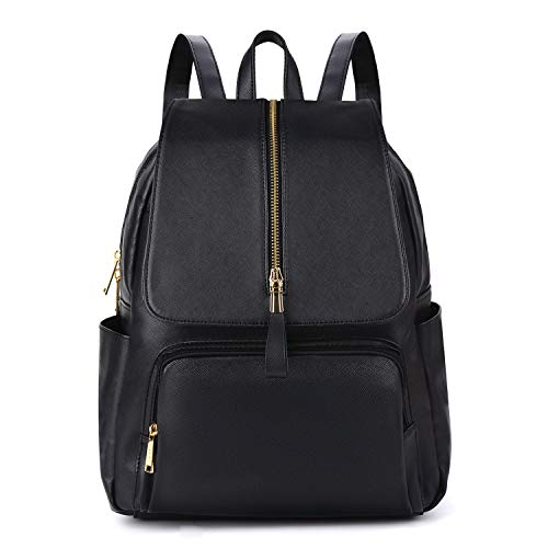 Leather Backpack,COOFIT Girl Leather Backpack Faux Leather Backpack Women...