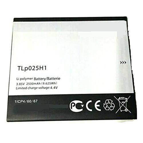 Backupower Batería de repuesto TLp025H1 TLp025H7 compatible con Alcatel One Touch Pop 4, One Touch Pop 4 LTE, OT-5051, OT-5051X, OT-5051D