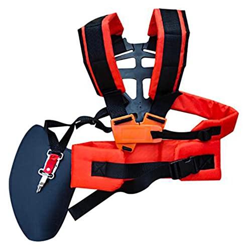 ZJHGQ Trimmer Schulterriemen Universal-Mower Trimmer-Bügel Verstellbare Doppel-Schulter-Rasenmäher Gürtel
