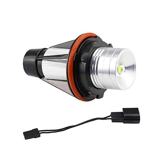 XIAOYAFANG Hxfang E39 5W LED Light Light Decoración Lámpara modificada Ajuste para BMW Angel Eye Hot Now (Color : Black and Silver)