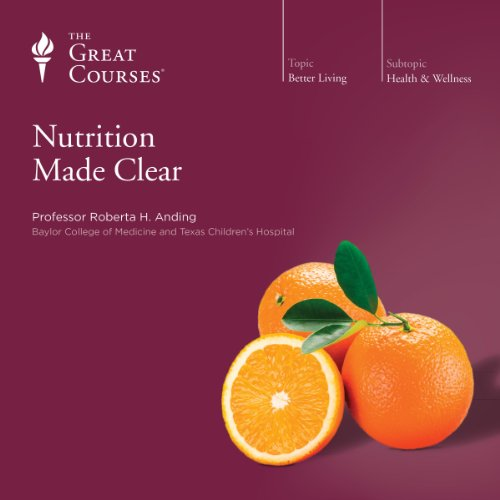 Nutrition Made Clear audiobook cover art