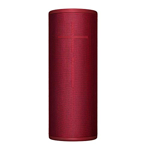 Ultimate Ears MEGABOOM 3 Portable Wireless Bluetooth Speaker (Powerful Sound + Thundering Bass, Bluetooth, Magic Button, Waterproof, Battery 20 hours) - Sunset Red