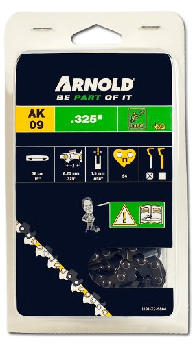Arnold zaagketting 325 inch, 1,5 mm, 64 aandrijfschakels, 38 cm zwaard 1191-X2-5864