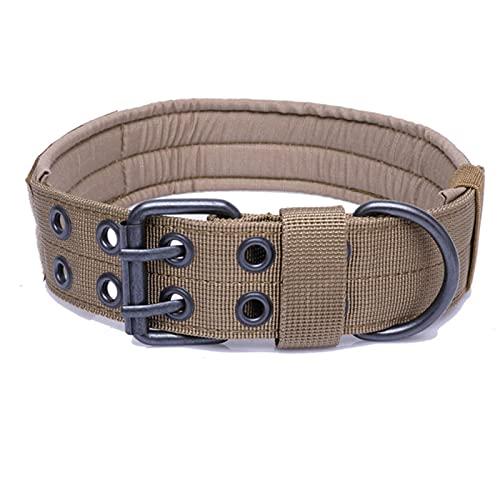 WWPP Collar Grande De Nailon para Perros, Hebilla DeEnsanchamientoEngrosada, Cómodo Entrenamiento Al Aire Libre para Mascotas, Collar Ajustable para Mascotas, Suministros para Mascotas