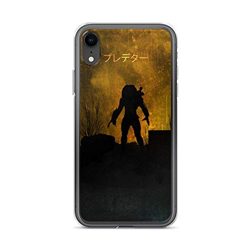 JSBFR Funda Compatible con iPhone 12 Mini Case Anti-Scratch Motion Picture Transparent Cases Cover Predator Minimalistic Action Movies Video Film Crystal Clear