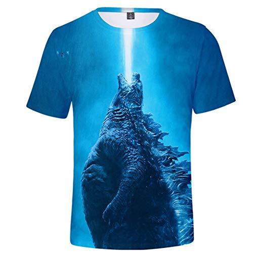 HBBOOI Godzill-un patrón de la camiseta de la UPF 50+ micro