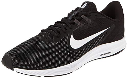 Nike Downshifter 9, Zapatillas de Running para Asfalto Hombre, Multicolor (Black/White/Anthracite/Cool Grey 002), 40 EU