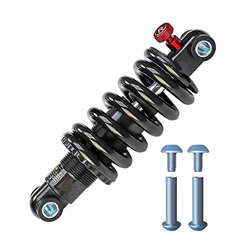 Snow Eagle Mountain Bike,Electric Bikes Rear Shock Absorber Rebound Preload Anodized Coil Spring Rear Suspension Damper Spring 125mm/150mm/165mm/190mm/ (Size : 125mm/550p)