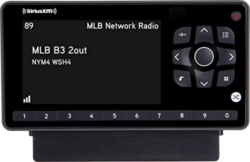 SiriusXM SXEZR1V1 Onyx EZR Satellite Radio with Vehicle Kit, Receive 3 Months Free Service with Subscription, Easy to Install – Enjoy SiriusXM in Your Car and Beyond with this Dock and Play Radio