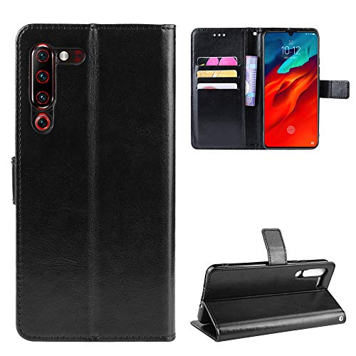 SWMGO Flip Wallet Case for Lenovo Z6 Pro(Pattern 1)