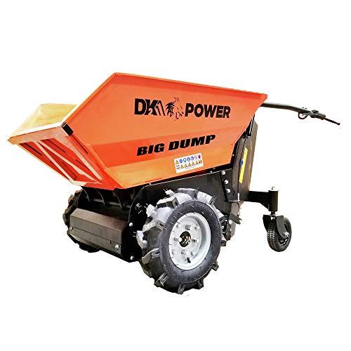 Detail K2 OPD811 8 cu. ft. 1100 lbs. Electric Powered Dump Cart