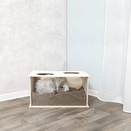 TRIXIE 63003 Buddelkiste für Kaninchen