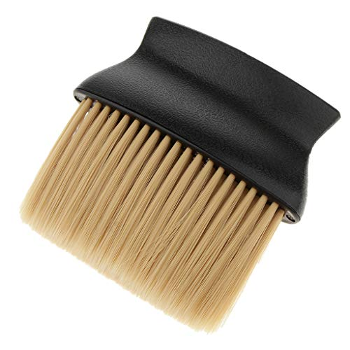 Cepillo Plumero Brocha de Cuello Limpiador Pincel de Peluquería Profesional