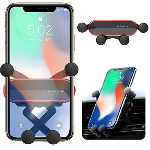 ORYCOOL Soporte Móvil para Coche, Soporte Teléfono Coche para Rejillas del, Porta Universal para teléfono Gravity, Compatible con iPhone 11 Pro MAX, Samsung, Huawei, Xiaomi(para 4.7 \'\' a 6.8 \'\')