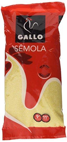 Gallo Semola - Semola De Trigo, 250 g - [Pack de 12]