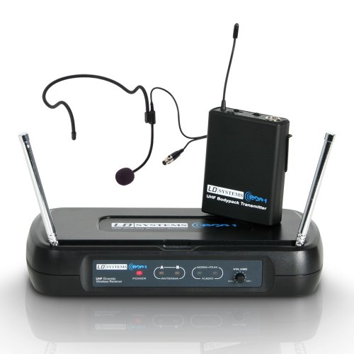 LD Systems LDWSECO2BPH4 - Micrófono inalámbrico (de auricular)