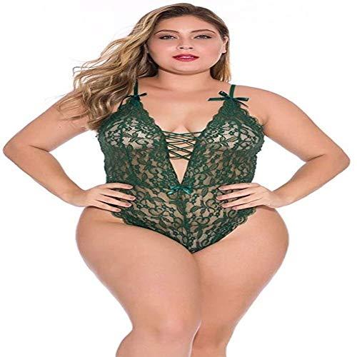 Shengluu Disfraz Colegiala Sexy Cosplay Las Mujeres arnés Atractivo Frontal Body Banda de Pecho de la muñeca Señora de inmersión tentación Ropa de Dormir Plus XL-4XL