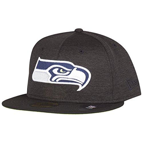 New Era NFL Shadow 59Fifty Tech Seattle Seahawks Gorra black