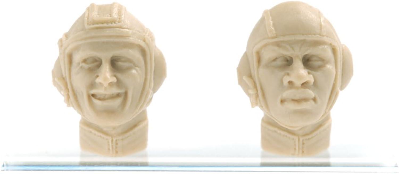 Mercenary Army Male Head Parts (Sergeant Garcia And Private first class Big Man) (Plastic model)