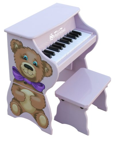 Schoenhut Learn-to-Play Toy Piano With 25-Keys and...