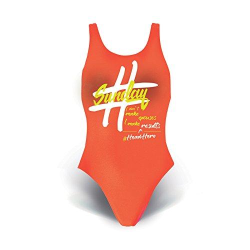 Head SWS Swimweek Lady-Pbt badpak voor dames, koraal, 46