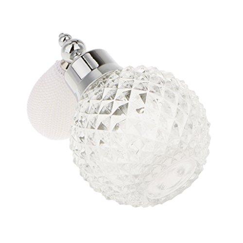 100ml Millésime Verre Cristal Atomiseur Bouteille De Parfum Vaporisateur Cadeau Dame - Transparent