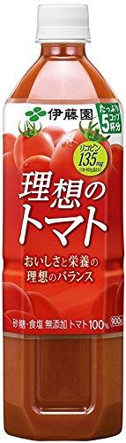 伊藤園 理想のトマト 900gペットボトル×12本入×(2ケース)