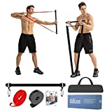 Moulyan Resistance Bar Portable Home Gym,...