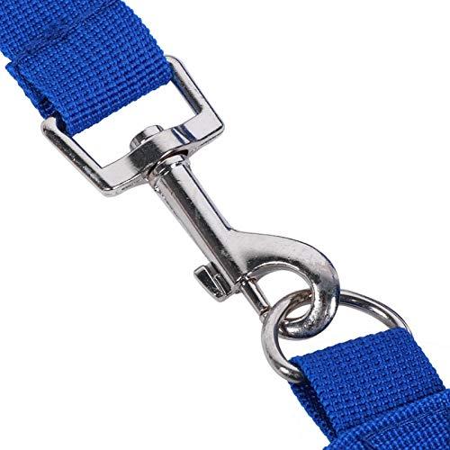 Pwshymi Zubehör Blauer Strohsack für den Außenbereich zum Füttern(Blue)