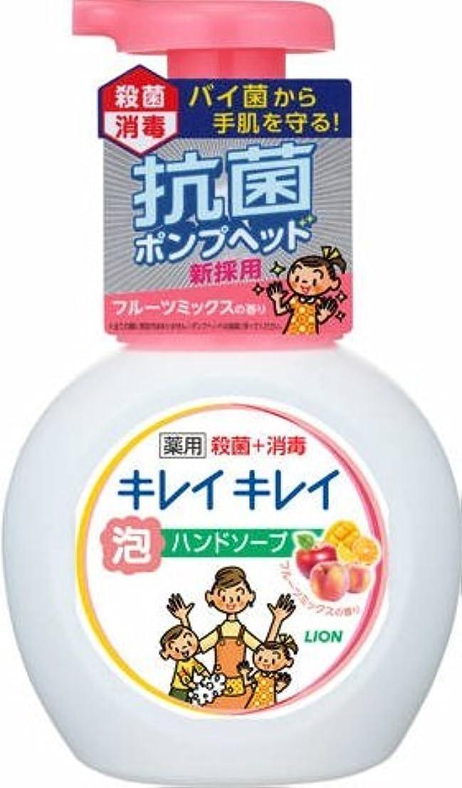 自明笑擬人キレイキレイ薬用泡ハンドソープ フルーツミックス ポンプ × 20個セット
