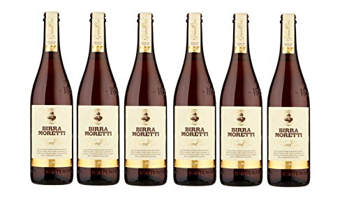 Moretti Grand Cru cerveza italiana [ 6 BOTELLAS x 750ml ]