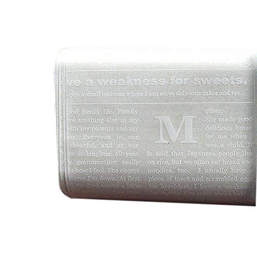 N-K Papel encerado para alimentos, papel de horno, jabón, 50 unidades, útil y práctico.