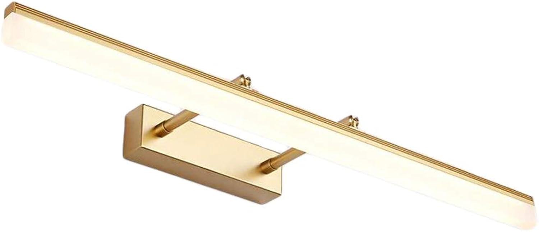 LED Spiegelleuchte, Einstellbar Badleuchte, Spiegellampe Schminklicht, Edelstahl Badezimmer Schrankleuchte, Schrank Beleuchtung, Dimmbar, IP44 Wasserdichte, Verstellbar, Aufbauleuchte,70cm14w