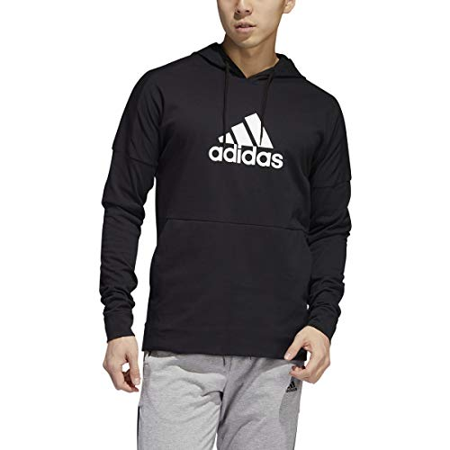 adidas Back to School Pullover Hoodie Black/White MD