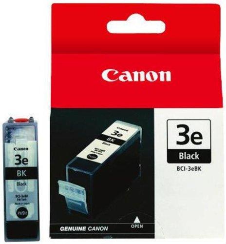 Canon BCI-3e Black Ink Tank Compatible to iP5000, iP4000R, iP4000, iP3000, i860, MP780, MP760, MP750, i850, i560, i550, S750, S630, S600, S530D, S520, S500, S450, 400, BJC 6000, MP730, MP700, MPF80, MPF60, MPF50, MPF30, MPC755
