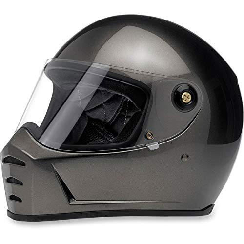Biltwell Lane Splitter Solid Full-face Motorcycle Helmet - Gloss Black / X-Large