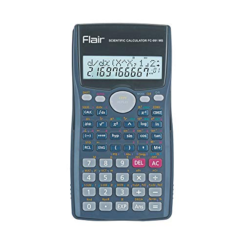 WRITEAWAY Scientific Calculator with 2-Line Display