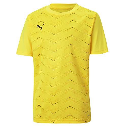 PUMA Ftblnxt Graphic Shirt Core Jr Camiseta, Niños, Ultra Yellow-Puma Black, 164