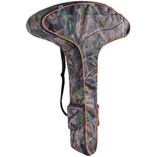 T-Shaped Bow-Tasche Leinwand-Speicher-Beutel-Pfeil-Bogen-Rucksack T-förmige Armbrust Leichte Tasche (Camouflage)
