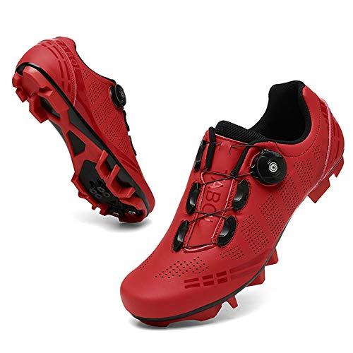 WPW Chaussures de Cyclisme Hommes Femmes, Chaussures de Vélo de Route VTT avec...