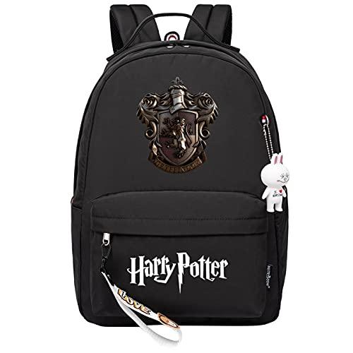 MMZ Mochila de Harry Potter para niñas, niños, mochila ligera, paquete para estudiantes de 6 a 15 grados (#9)